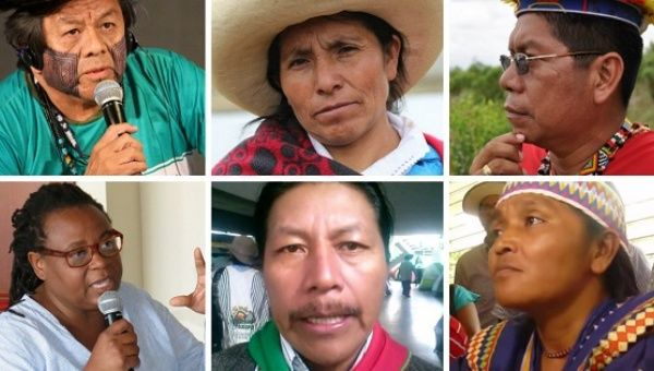 Indigenous activists of Latin America