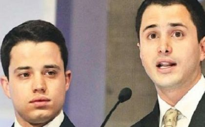 Thomas and Jerome Uribe, the sons of former President Alvaro Uribe, are also being investigated for defrauding the state.