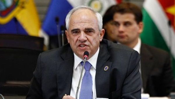 The Secretary-General of the UNASUR Ernesto Samper spoke out against the impeachment efforts against Brazilian President Dilma Rousseff.