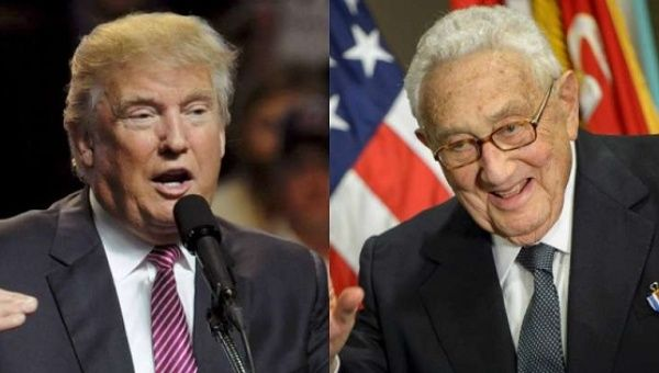 Image result for trump kissinger