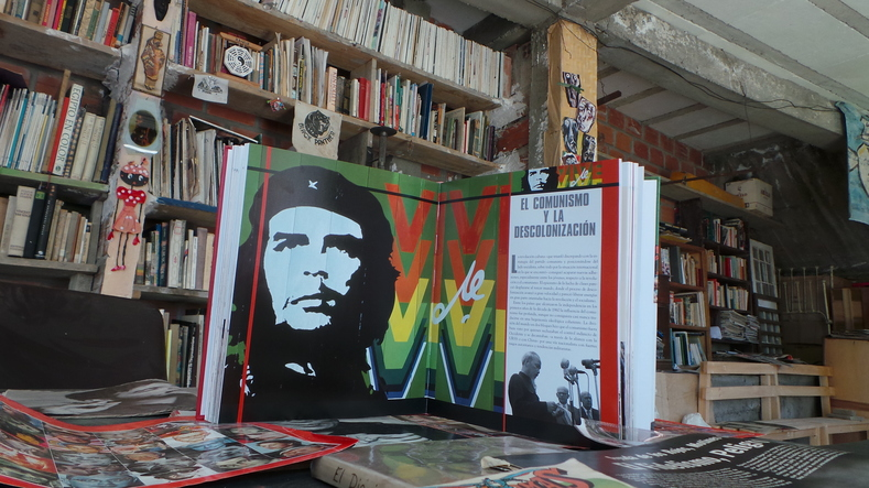 The collection contains hundreds of items about global revolutionary struggles.