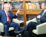 Former Brazilian President and political leader Luiz Inacio Lula da Silva during an interview with teleSUR in Sao Paulo, Brazil, May 19, 2016.