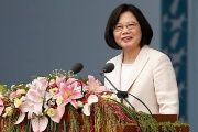 Taiwan's President Tsai Ing-wen in her inauguration ceremony in Taipei, Taiwan May 20, 2016