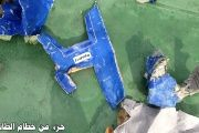 Picture shows some of the found debris and beginnings of the EgyptAir plane that crashed in the Mediterranean.