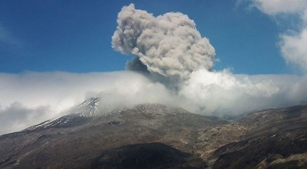 the volcanic eruption of nevado del Nevado del ruiz, a broad, glacier-covered stratovolcano in colombia, south america, most known for its eruption in 1985 that killed ~25,000 people, has seen recent volcanic activity over the.
