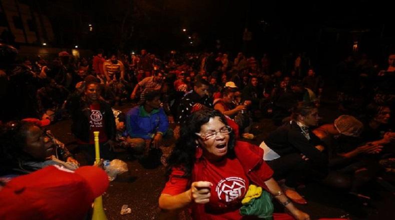 El pueblo brasileño rechaza de manera contundente las medidas tomadas durante la primera semana de la gestión del interino.