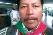 Indigenous activist Feliciano Valencia was sentenced to 16 years over alleged kidnapping.