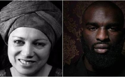 Houria Bouteldja and Almamy Kanoute, anti-racist and social movement activists in Paris.