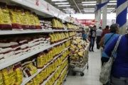 The Venezuelan Central Bank says hoarding of basic goods like food is part of an