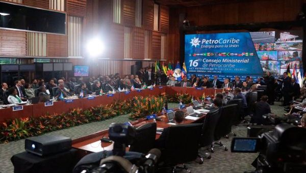 The 2016 Petrocaribe meeting.