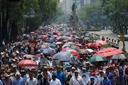 Tens of Thousands of Teachers Hold 'Mega March' in Mexico City