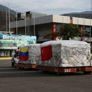 Venezuela recibe 96 toneladas de medicinas de convenio con China   Noticias   teleSUR