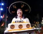 Peruvian presidential candidate Keiko Fujimori of the Fuerza Popular (Popular Force) party attends an election rally in Lima, Peru, May 25, 2016.