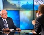 Sanders spoke with Chuck Todd on Meet the Press, which aired Sunday.