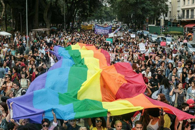 Addressing the LGBT community on Sunday, suspended President Dilma Rousseff called on Brazilians to defend their hard-earned achievements and continue to fight against all forms of intolerance.