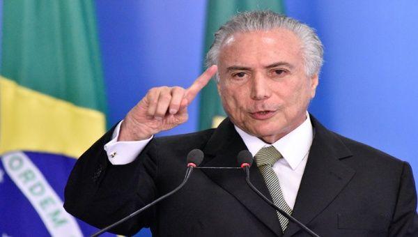 Temer sugiere flexibilización del Mercosur