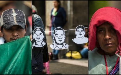 March Against Forced Disappearances in Mexico City