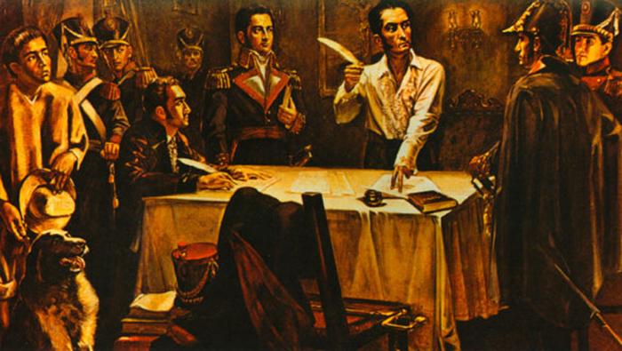 "Declara Simón Bolívar ""Guerra a Muerte"" a los españoles"
