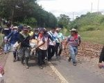 Thousands of peasants and indigenous people are currently holding a strike across Colombia.