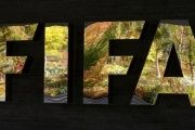 FIFA's logo is seen in front of its headquarters during a meeting of the FIFA executive committee in Zurich, Switzerland September 25, 2015.
