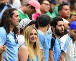 Uruguay fans before their team's match against Mexico