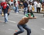 Opposition leaders in Venezuela have a history of inciting violence. This is a photo of one protest in April 2013.