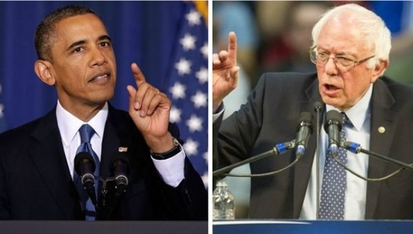 Barack Obama and Bernie Sanders will meet in the White House on Thursday.