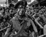 Faces of war. These men and many more were trained by the CIA to carry out a bloody coup in Guatemala in 1954.