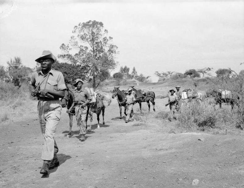 Chuka massacre, Kenya, 1953: Troops of the King