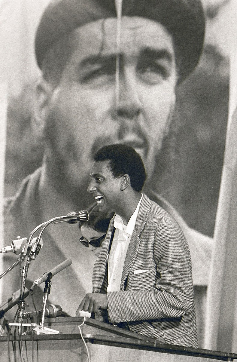 "Stokely Carmichael: ""Luckily for us, the night in Greenwood, King had to go to do a taped television thing, I think for"