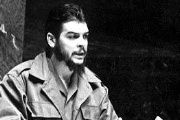 Ernesto Guevara speaking at the United Nations.