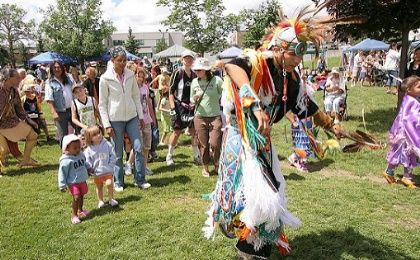 National Aboriginal Day celebrations in Ontario.