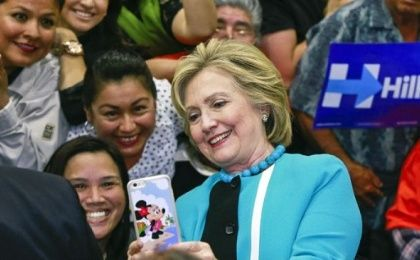 Hillary Clinton attended the NALEO conference last year.
