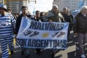 The Malvinas claim has been a national demand for decades.