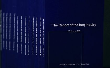 Copies of the Iraq Inquiry Report also known as the Chilcot Report