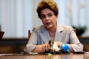 Suspended Brazilian President Dilma Rousseff attends a news conference with foreign media in Brasilia, June 14, 2016.