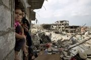 Over 2,000 Gazans died in the war that began two years ago as of Friday.