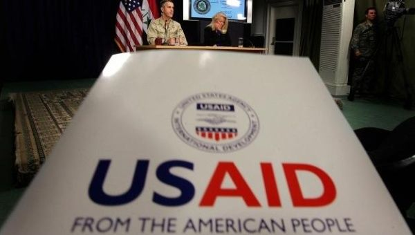 USAID funds opposition aligned NGO