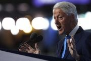 Former U.S. President Bill Clinton speaks during the second night at the Democratic National Convention in Philadelphia, Pennsylvania, U.S., July 26, 2016.