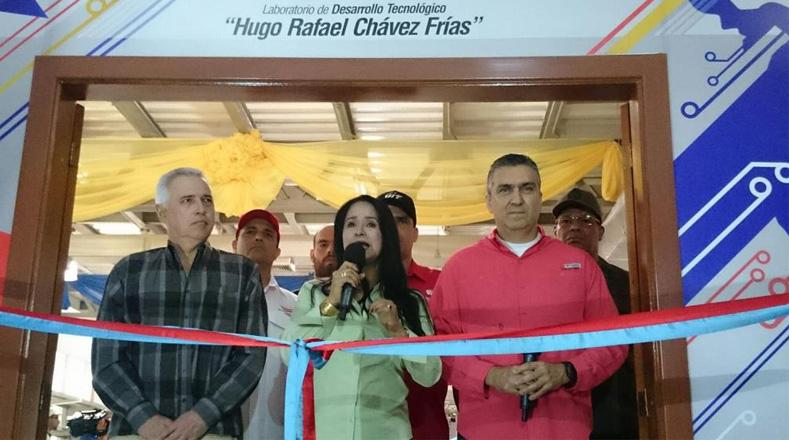 En ocasión por el natalicio del líder bolivariano, fue inaugurado el laboratorio Hugo Chávez para las pruebas de los equipos de la empresa VIT.