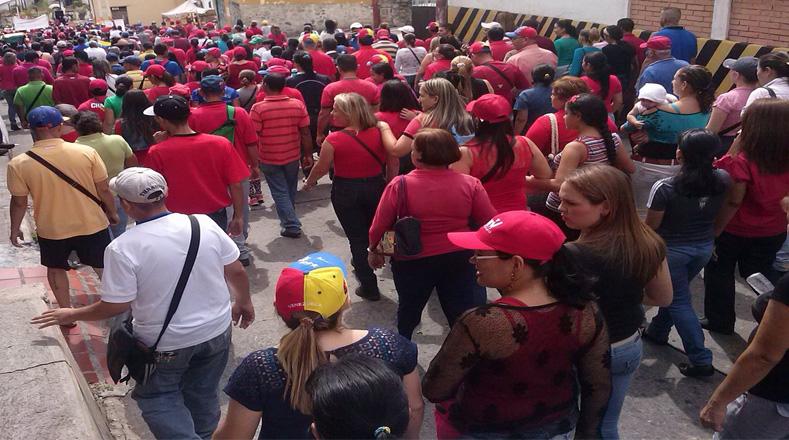 En el estado Trujillo también se desplazaron cientos de personas para celebrar los 62 años del natalicio de Chávez. Grupos motorizados acompañaron la jornada.