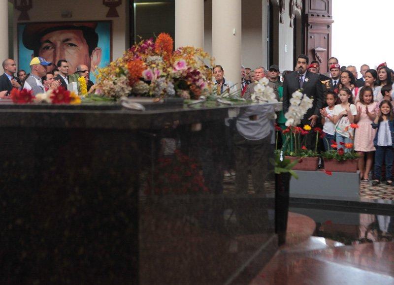 Nicolás Maduro: Los 62 años de Hugo Chávez han sido celebrados en los 4 puntos cardinales del planeta tierra.