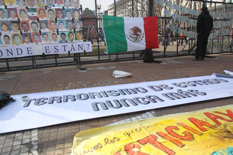 Ayotzinapa has now become a symbolic case of Mexican government human rights abuses, extrajudicial murders and forced disappearances. Activists point to the most recent case in which federal police are accused of extrajudicial murder of 12 protesters in Nochixtlan, Oaxaca on July 19th, 2016.