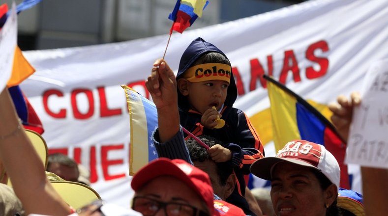 El presidente de la Asociación de Colombianos en Venezuela, Juan Carlos Cano, agradeció en nombre de la comunidad al Gobierno de Maduro por la inclusión en los programas sociales a los más de cinco millones de colombianos que residen en el país.