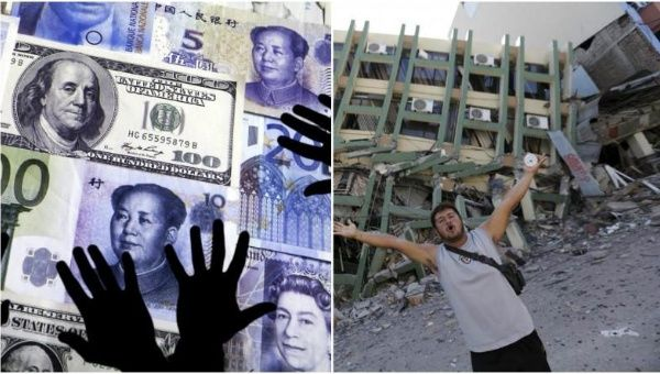 The money taken out of the country could fund the entire reconstruction after April
