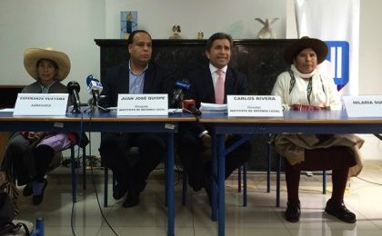 Press conference of Victims of Forced Sterilizations