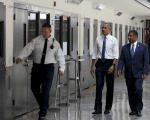U.S. President Barack Obama visits the El Reno Federal Correctional Institution outside Oklahoma City July 16, 2015