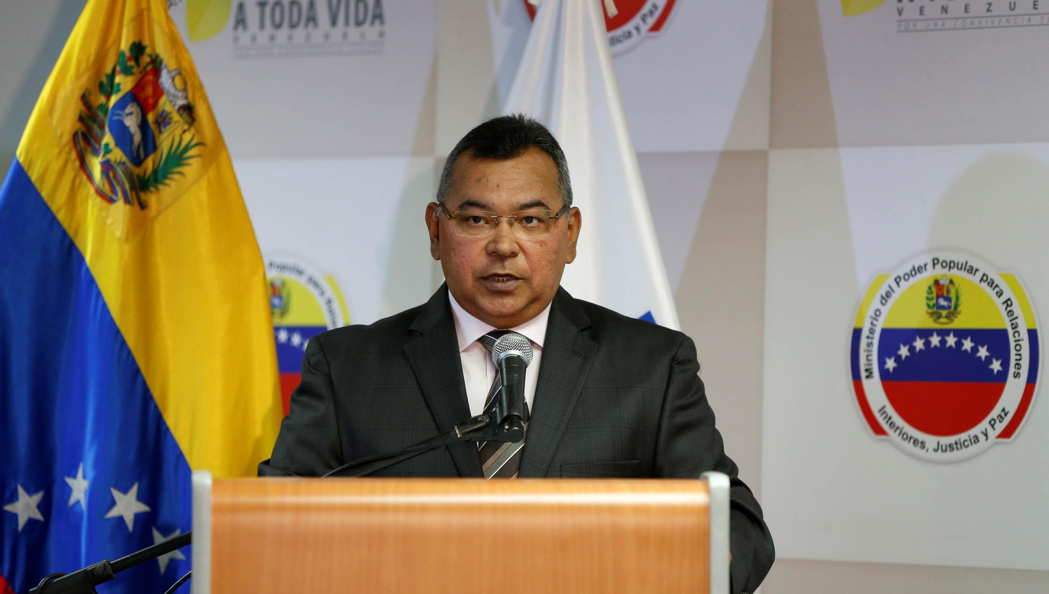 """La meta es """"garantizar el éxito de esta importante reunión internacional"""", dijo Reverol."""