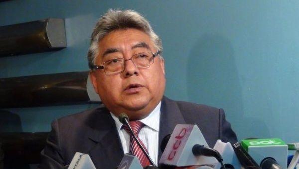 Illanes acudió a la localidad de Panduro para negociar con los cooperativistas movilizados