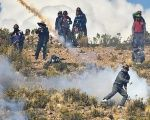 Bolivian mining cooperatives protest